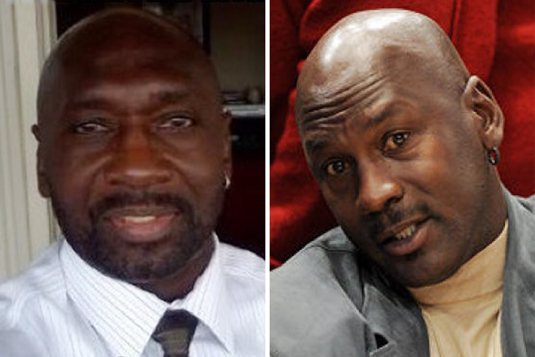 Michael Jordan's Not So Doppelganger
