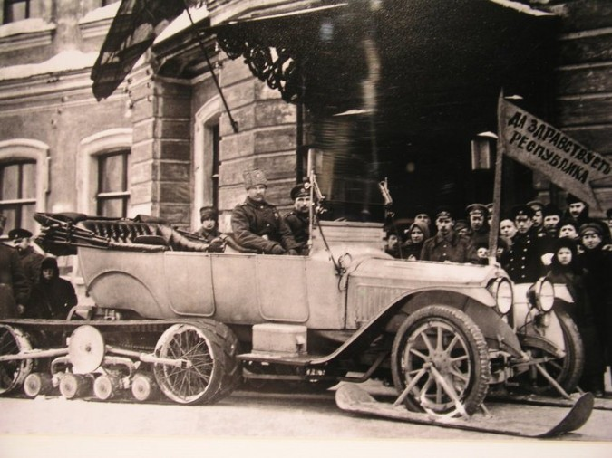 A Custom Vehicle Built for Tsar Nikolai II of Russia in 1917