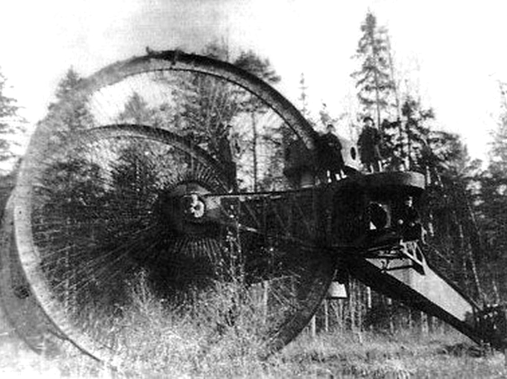 Experimental Russian Tsar Tank in 1914