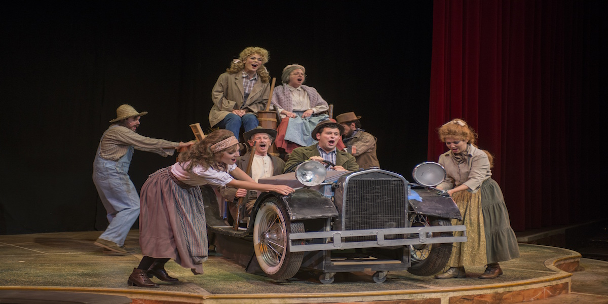 Hillbillies Stage Show