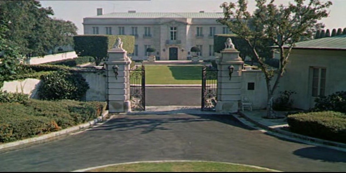 The Clampett Mansion Then