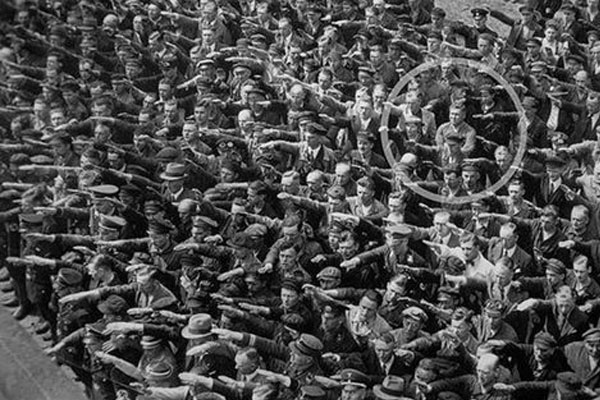 The Man Who Refused to Give the Nazi Salute