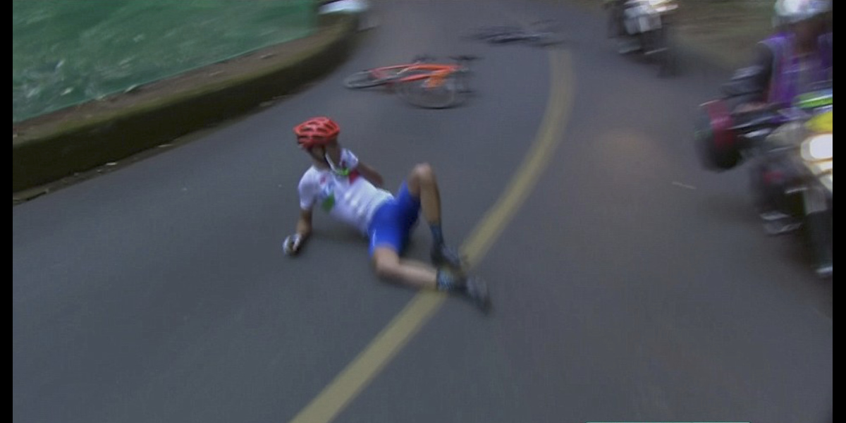 Vincenzo Nibali Ended Up In The ICU