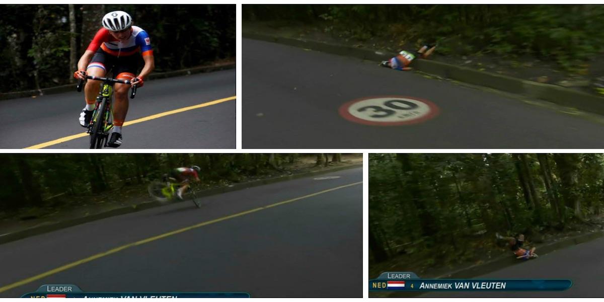 Annemiek van Vleuten Was Seriously Injured
