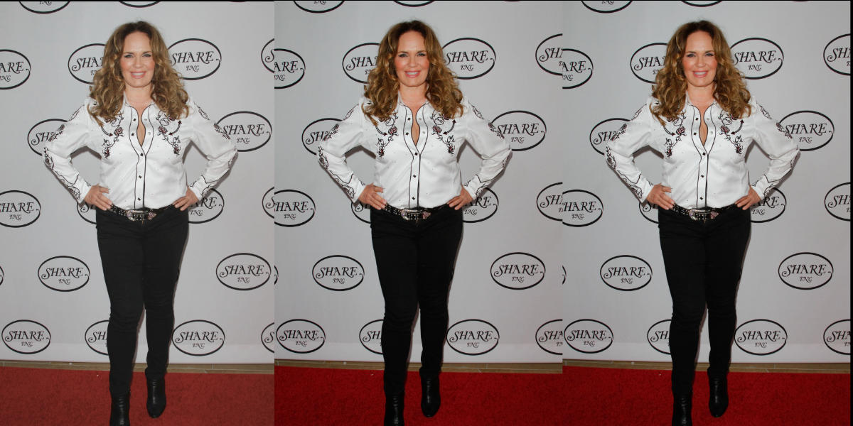Catherine Bach Later