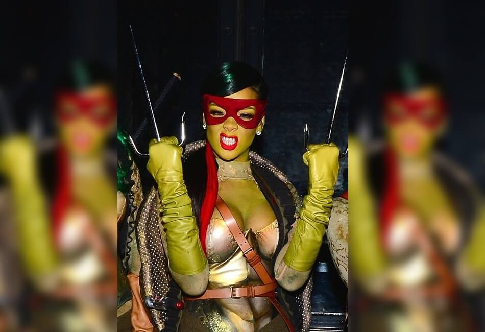 Rihanna in a Half Shell: Turtle Power!