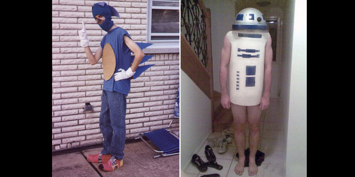 Sonic and R2-D2