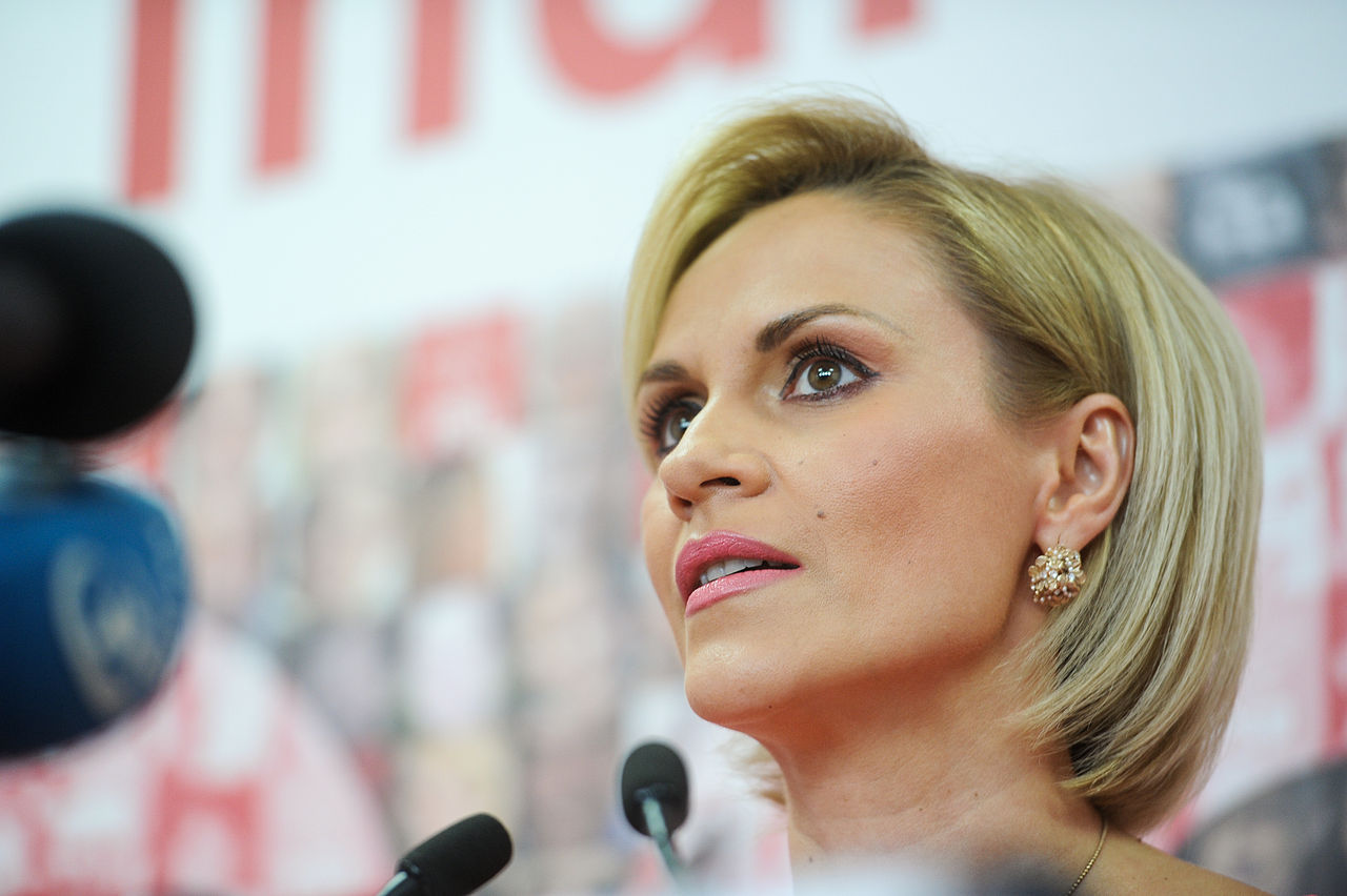 Gabriela Firea is on Fire