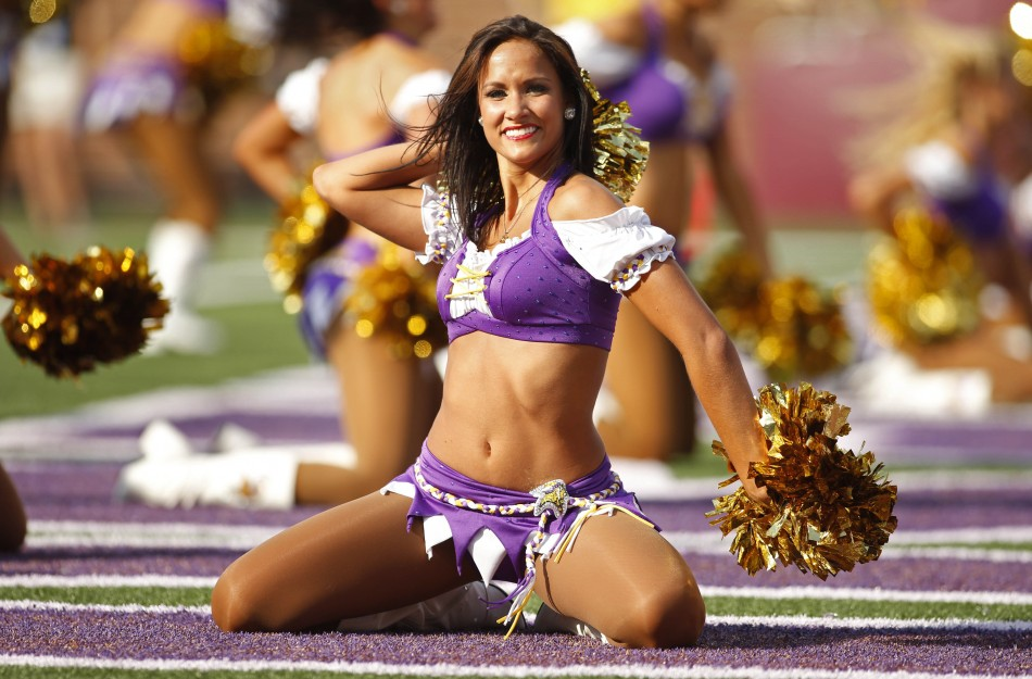 Molly of the Minnesota Vikings