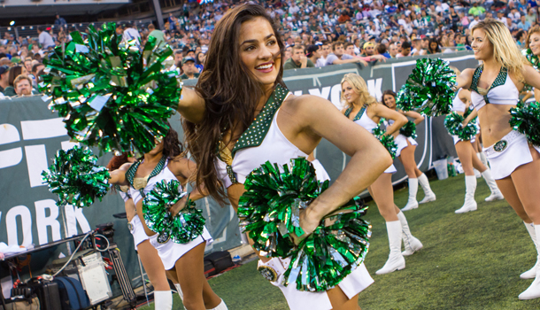 Natalie of the New York Jets