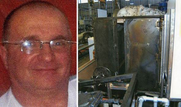 Man Gets Trapped in Factory Oven