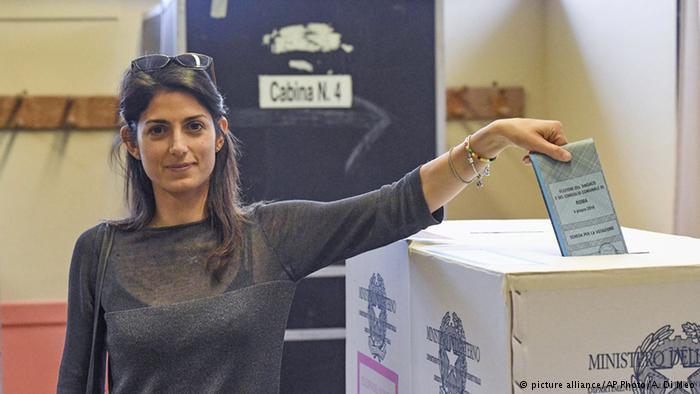 Rome's First Female Mayor is Easy on the Eyes