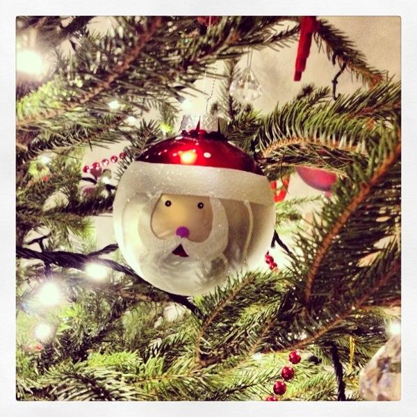 The Christmas Tree Falls
