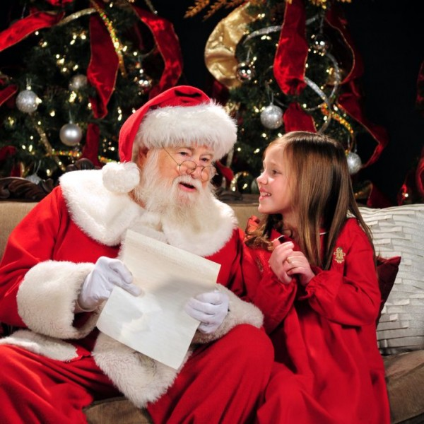 Dad Is Also Kissing Santa Claus