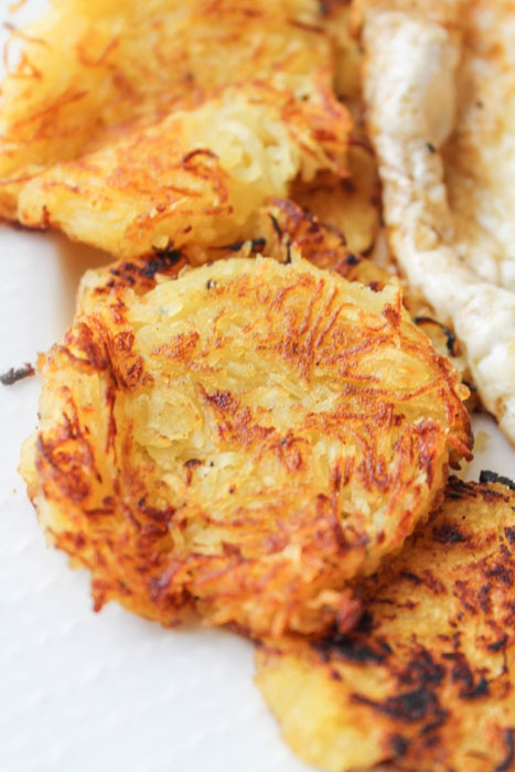 Hash Browns Substituted With Summer Squash