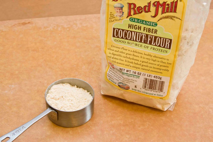 Substituting Flour With Coconut Flour