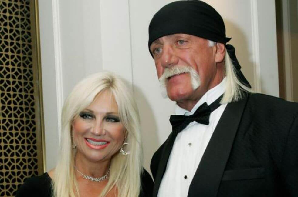 The Hulkster Found Out His Wife Filed for Divorce from a Reporter