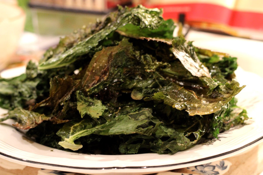 Eat Kale Chips Instead of Potato Chips