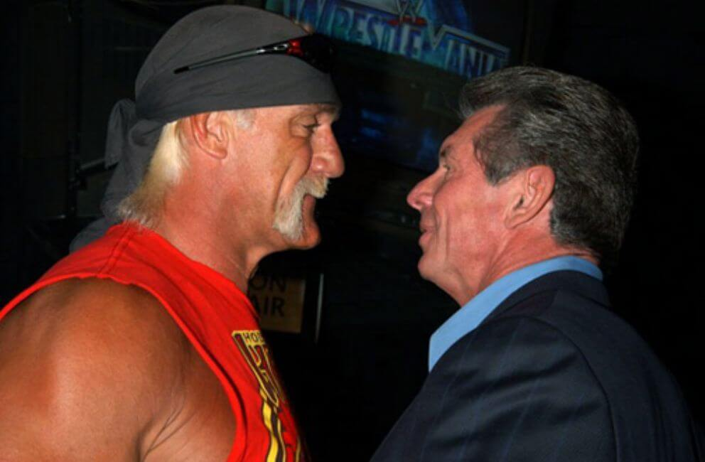Hulk Hogan Lived Right by the Big Boss Vince McMahon for Years