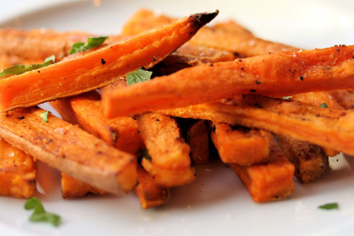 Sweet Potato Fries Instead of French Fries