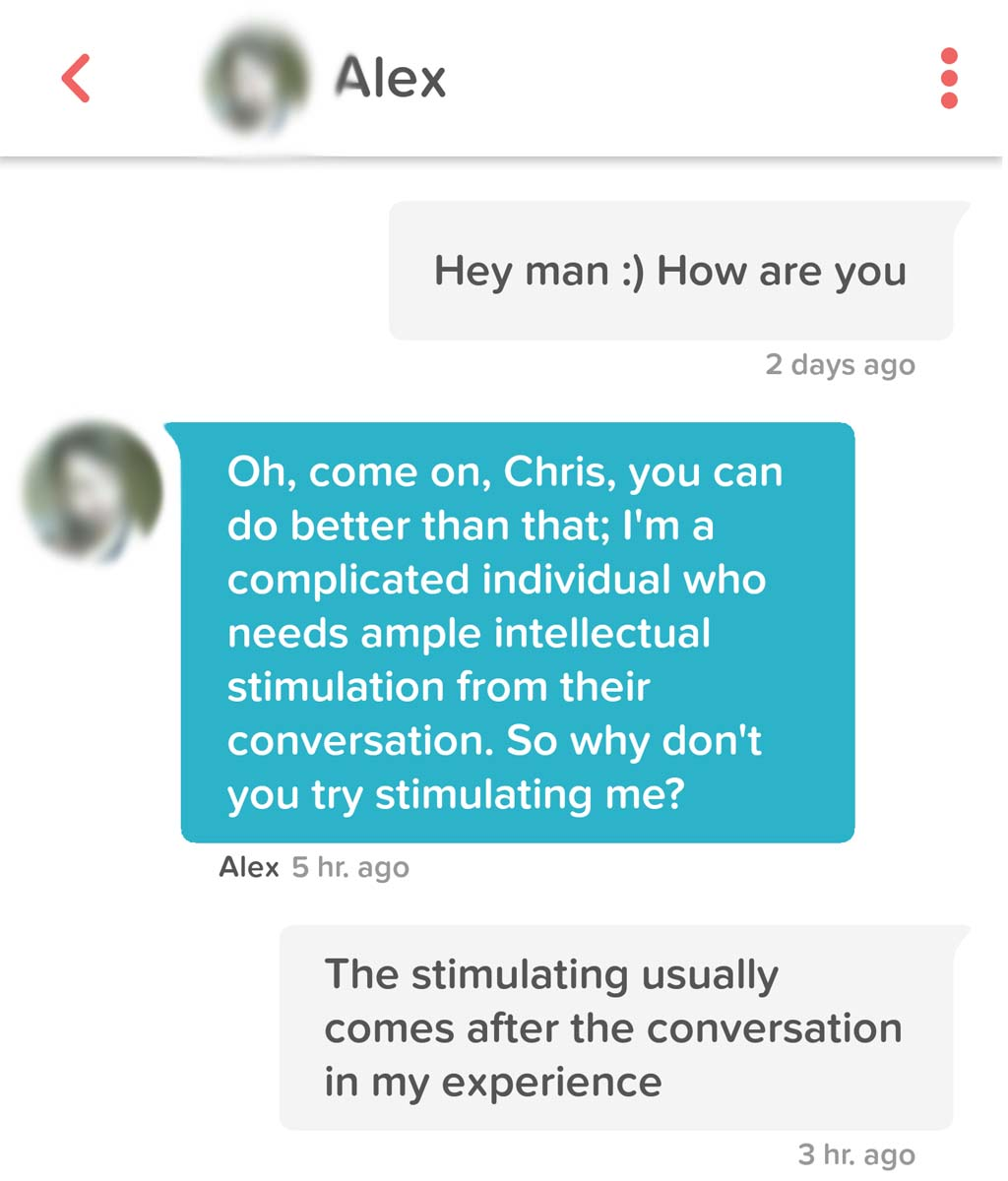 "When You Need ""Stimulation"""