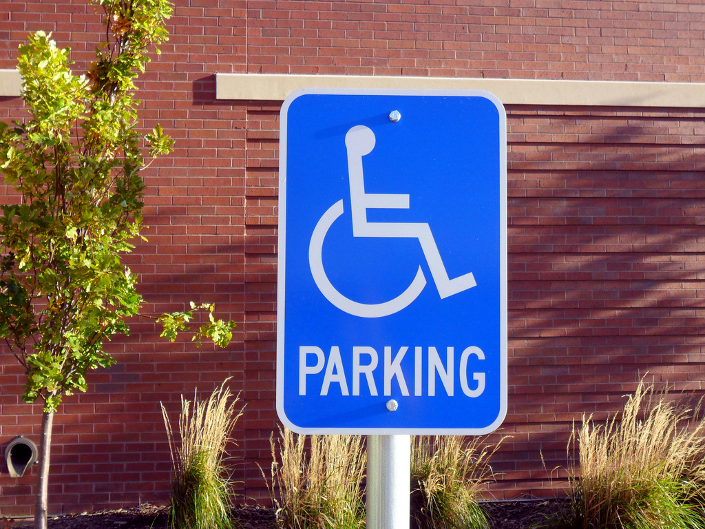 It Is A Crime In The United States To Use A Dead Person's Handicapped Parking Sign