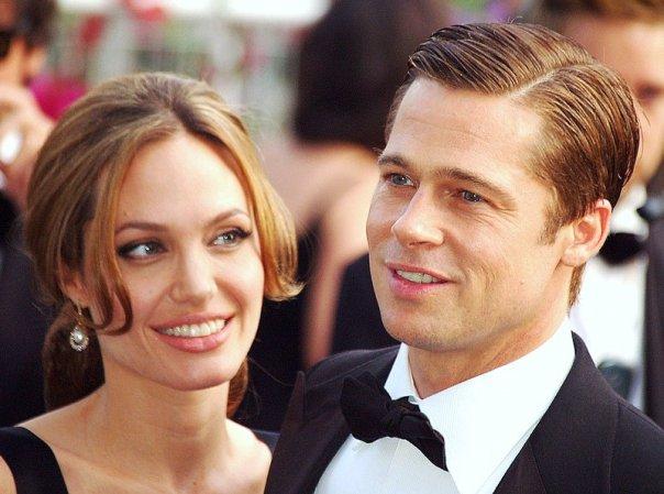 Brad Pitt and Angelina Jolie Pitt