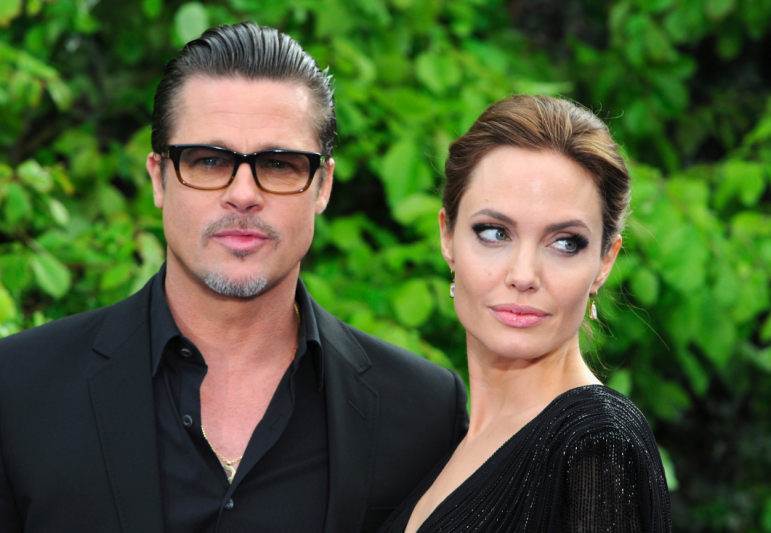 Brad Pitt And Angelina Jolie Pitt