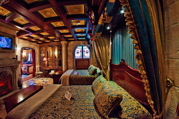 Cinderella's Castle Has A Secret Suite