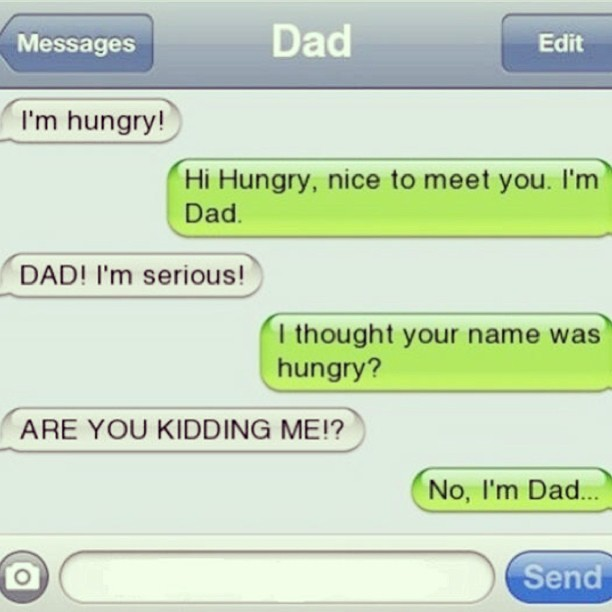 The Sarcastic Dad