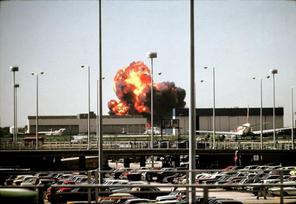 American Airlines Flight 191, Chicago, Il, May 25, 1979
