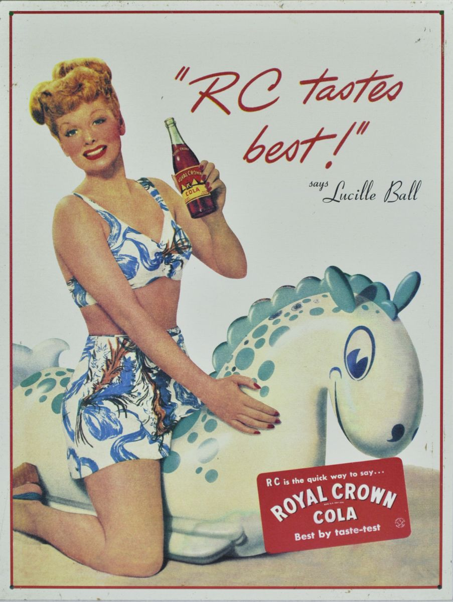 Lucy Does RC Cola