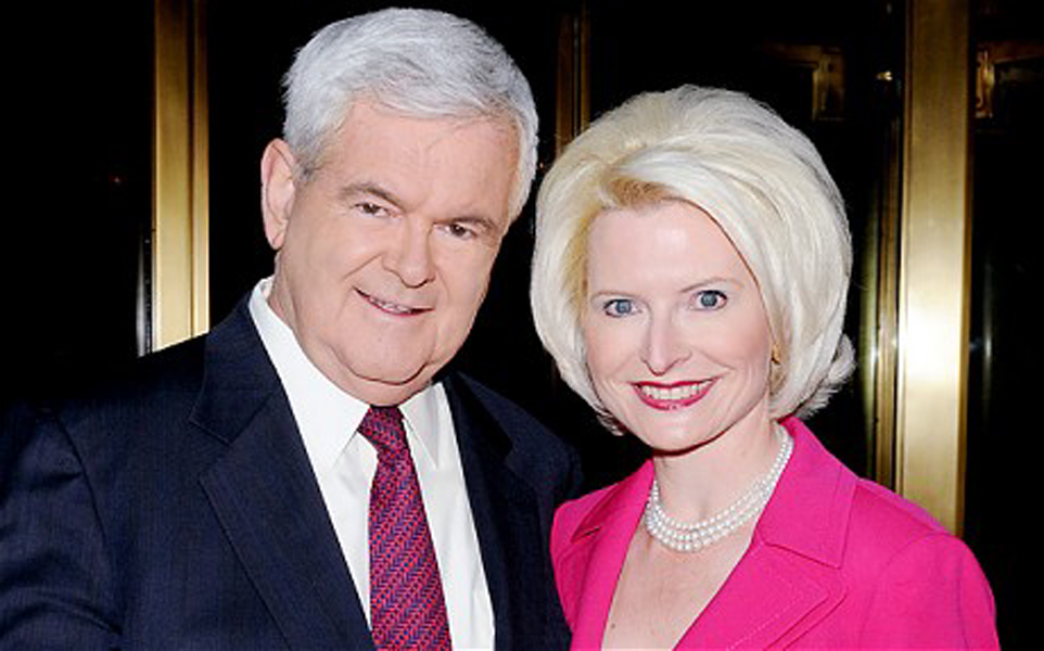 Newt Gingrich and Callista Gingrich