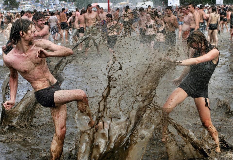 Mud, Mud, Everywhere