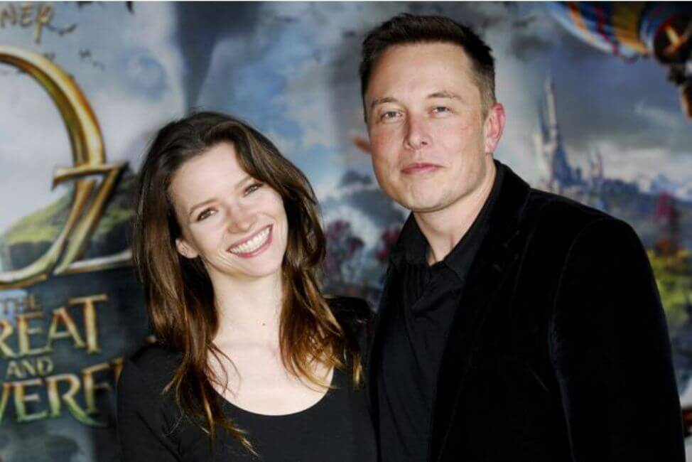 Elon Musk and Talulah Riley