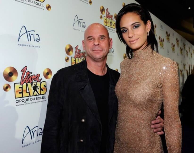 Guy Laliberte and Claudia Barilla