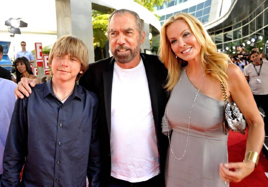 John Paul Dejoria and Eloise Broady