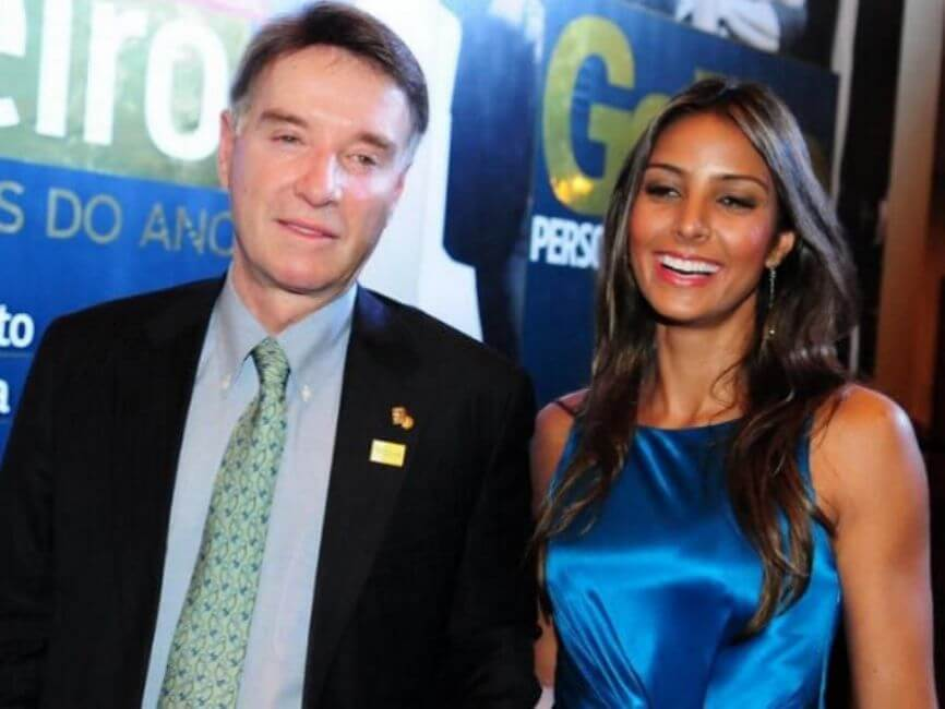 Flavia Sampaio and Eike Batista