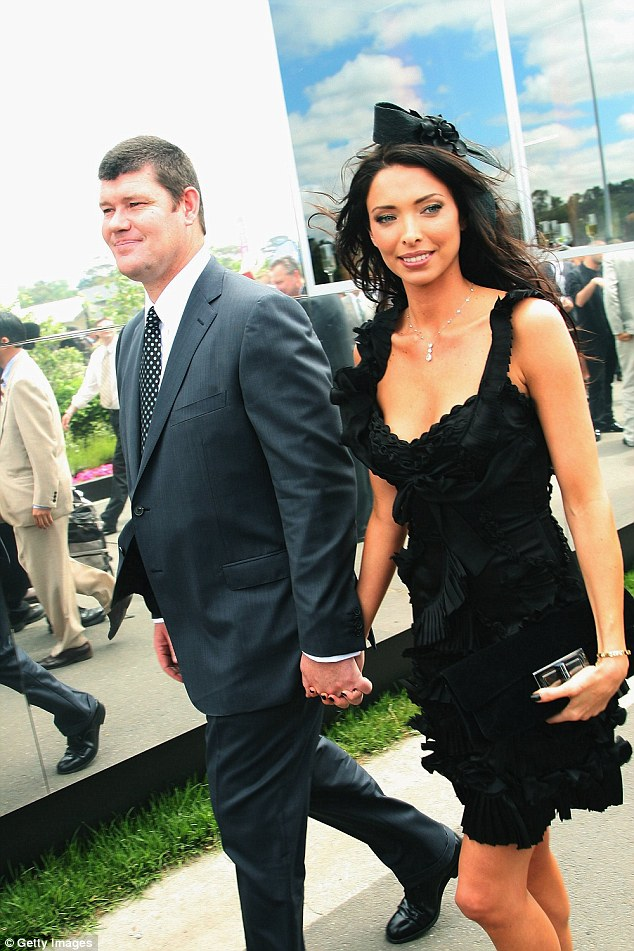 James Packer and Erica Packer