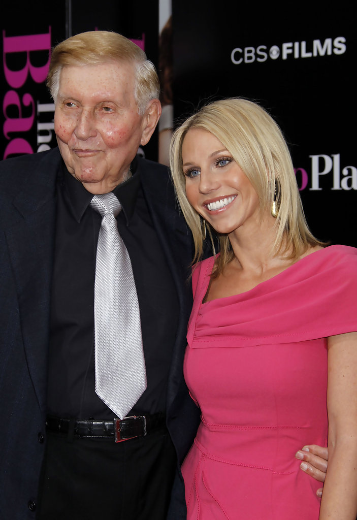 Sumner Redstone and Malia Andelin