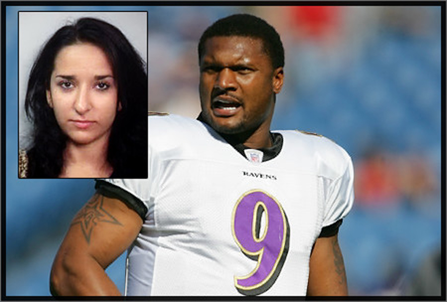 Sahel Kazemi and Steve McNair