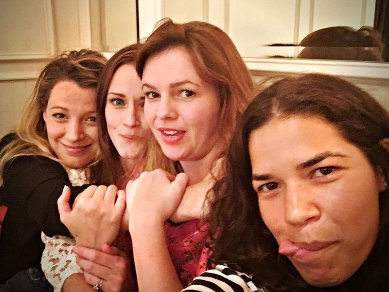 Blake Lively, America Ferrera, Alexis Bledel, and Amber Tamblyn