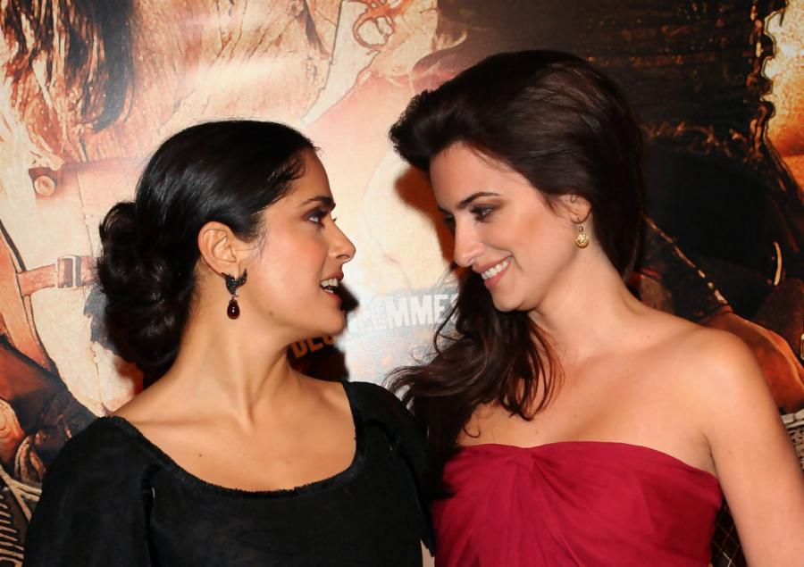 Salma Hayek and Penelope Cruz