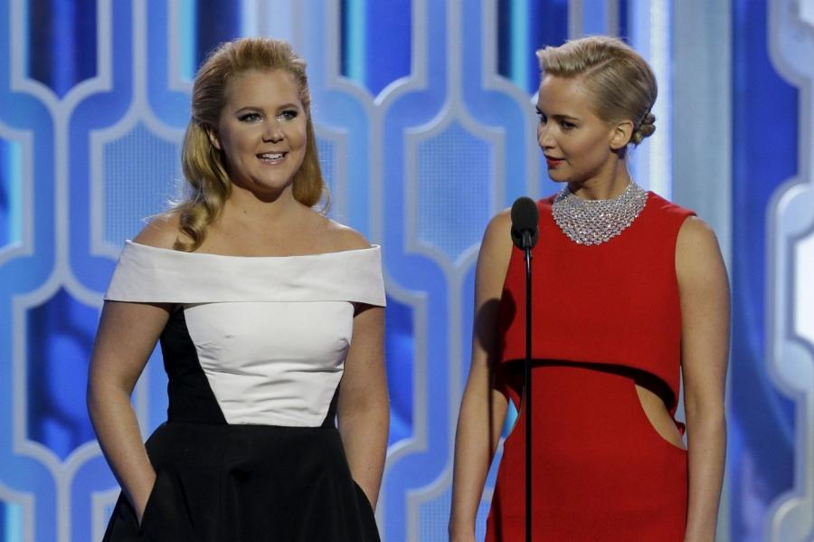Jennifer Lawrence and Amy Schumer