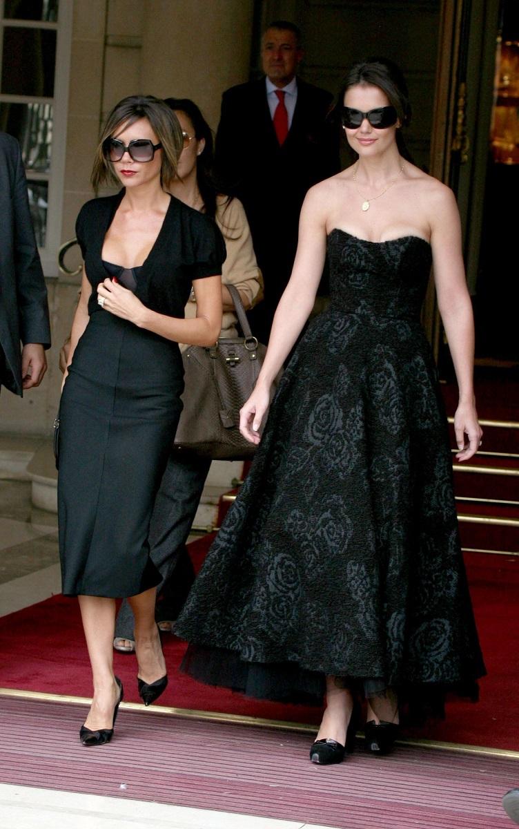 Katie Holmes and Victoria Beckham