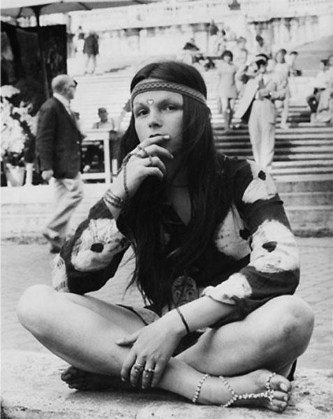 Headbands and Hippie Fashion