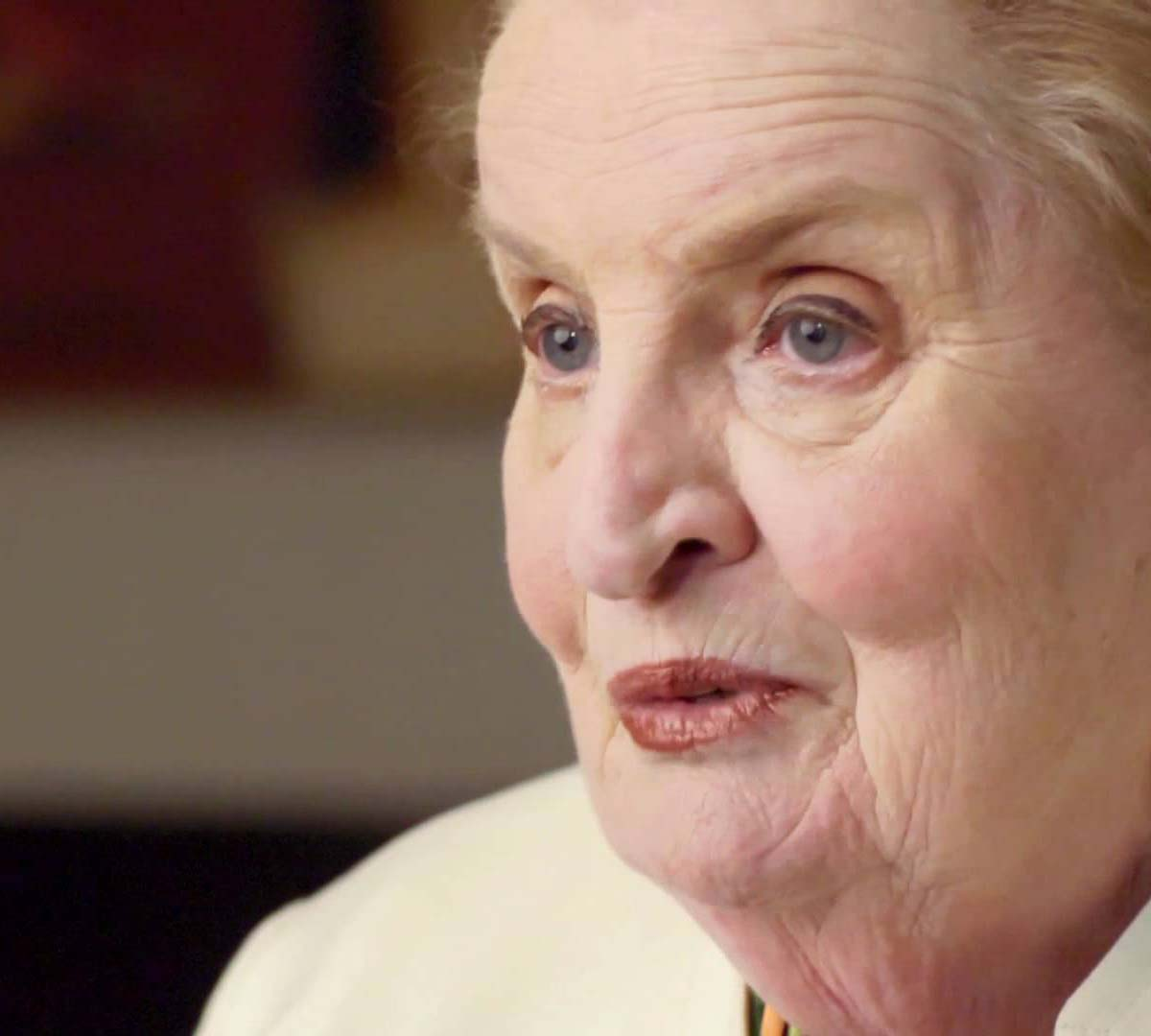 Madeleine Albright Stands In Solidarity