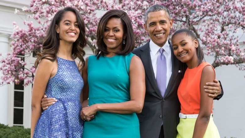 Malia And Sasha Obama: $200,000-$450,000