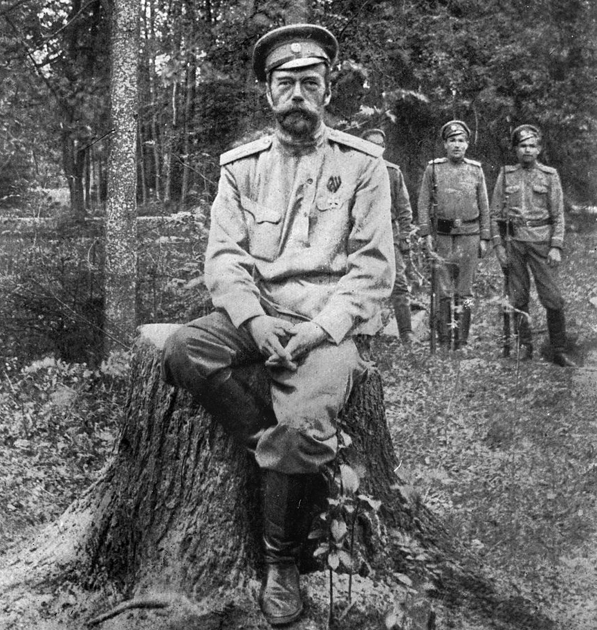 Tsar Nicholas II After His Abdication