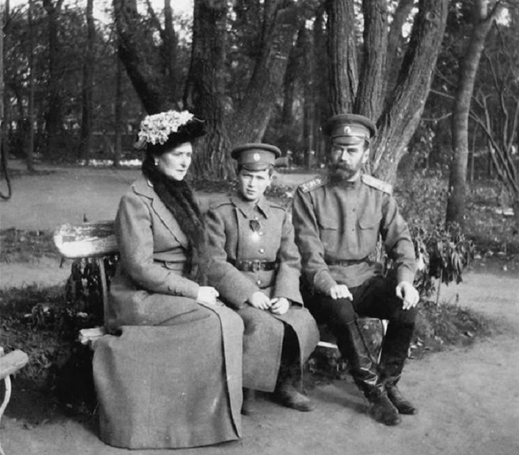 At Tsarskoye Selo Before Captivity